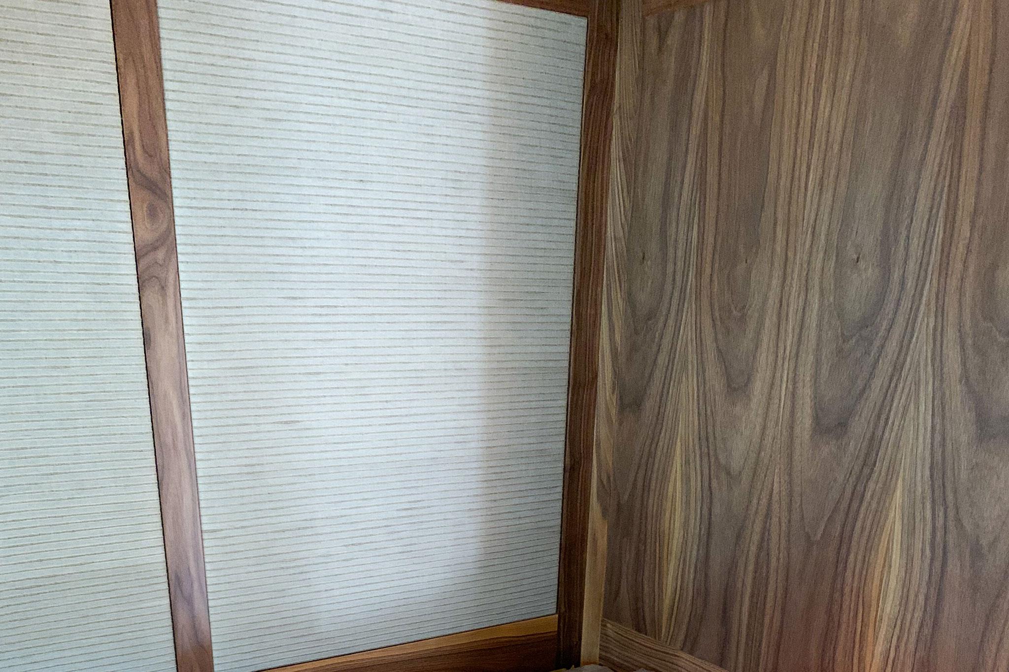 Luxury Yacht Bulkhead Fabric Panels