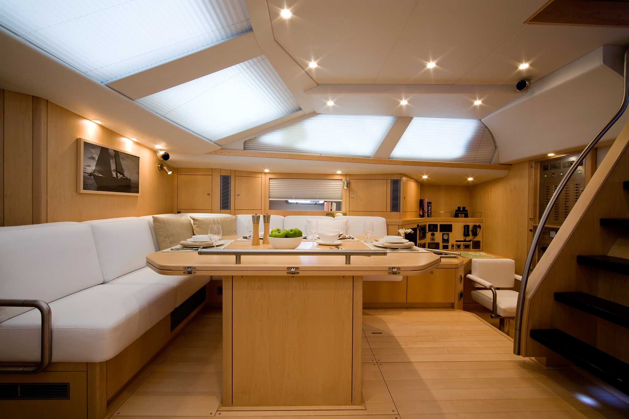 Oyster 655 Yacht Seating Upholstery By Passmore