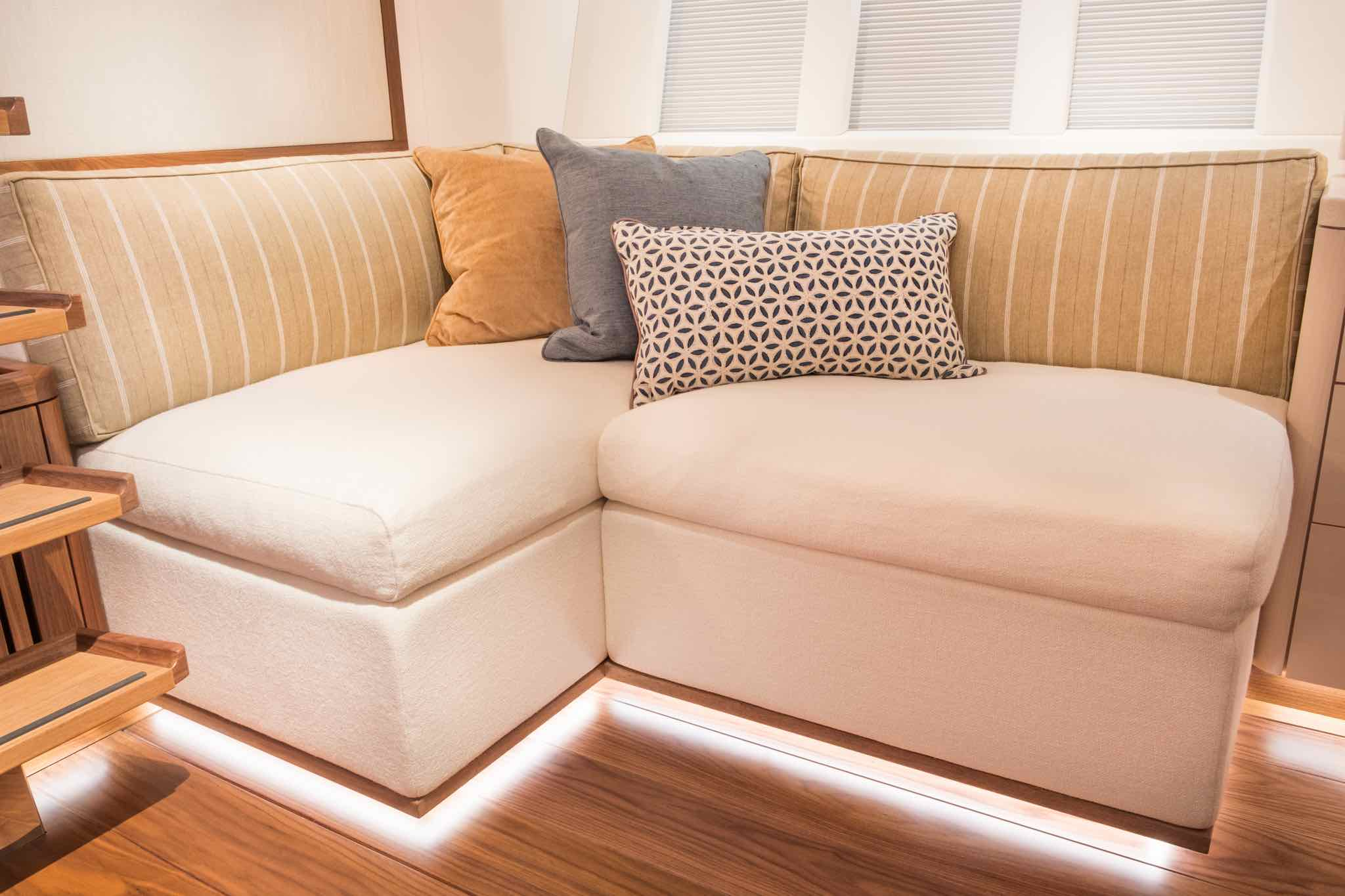 Owners Cabin Yacht Seating
