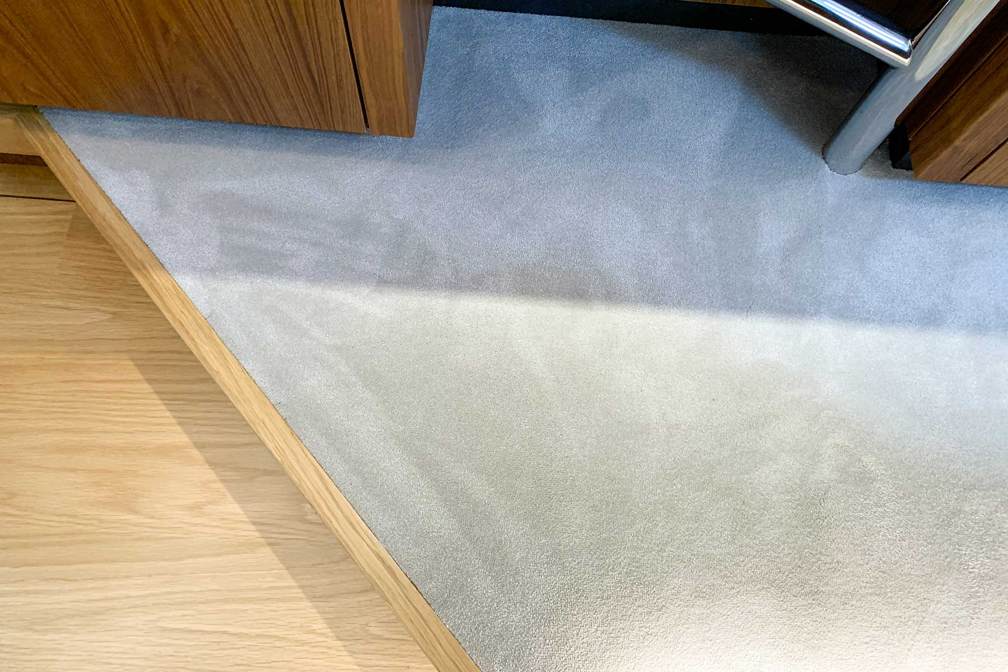 Non-slip Bound Carpets Onboard A Yacht