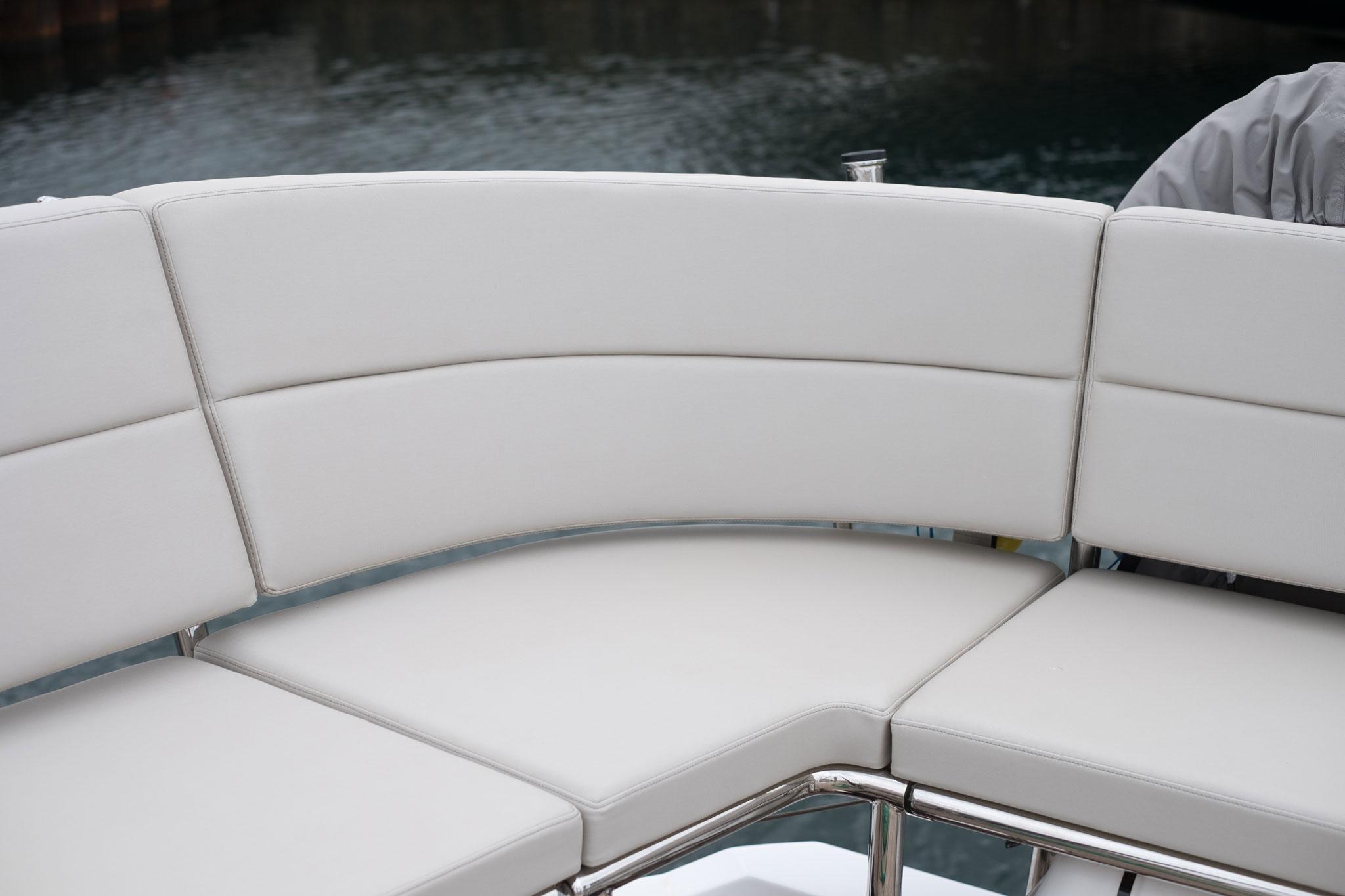 Yacht Deck Cushions Corner Detail