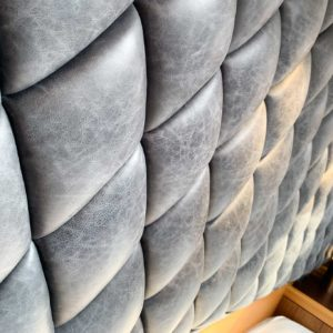 Luxury Leather Yacht Headboard By Passmore